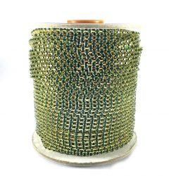 corrente_de_strass_PL24_SS12_emerald_dourado_CSF0179_rolo_brilhartstrass